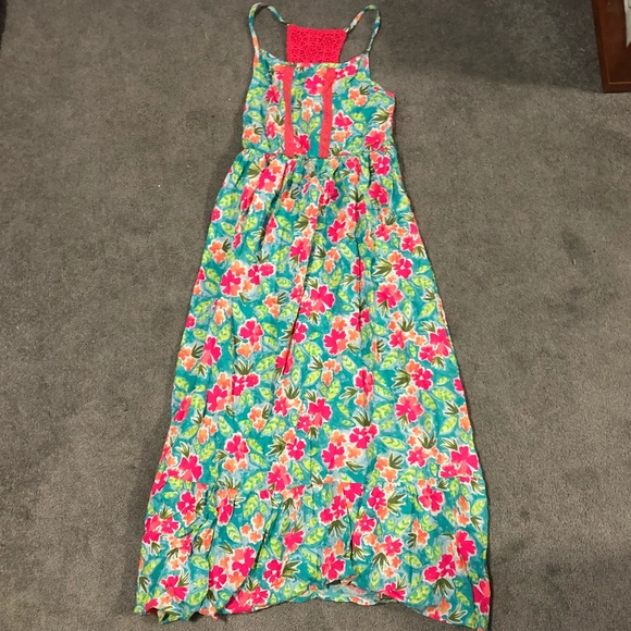 6924de44e7 Cat   Jack Other - Cat   Jack Girls Floral Maxi Dress Size ...